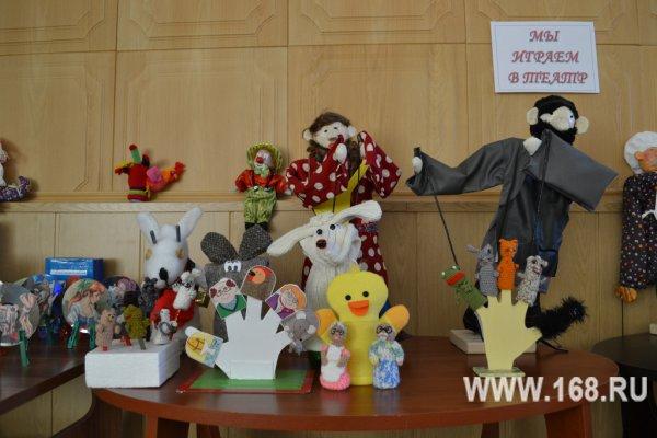 Кукольный театр своими руками в детском саду - Только новые учебники