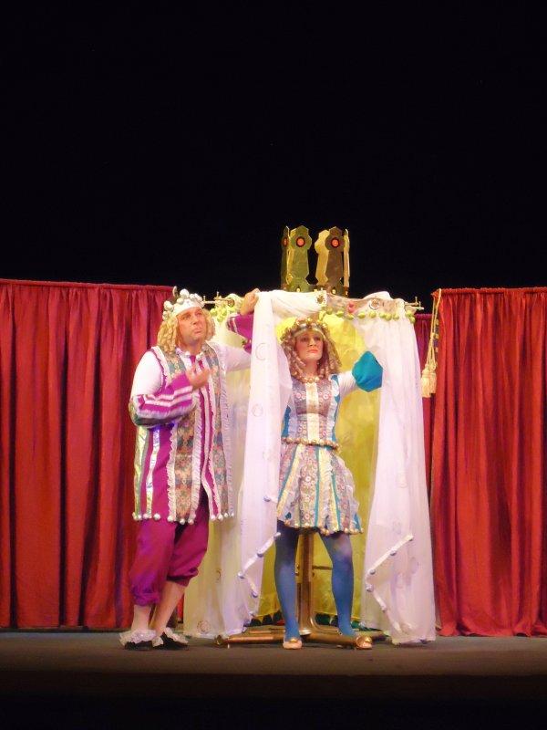 Театрализованный сценарий с царевной
