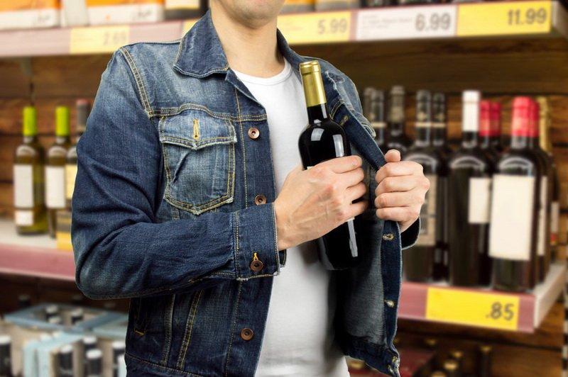 что будет за кражу в магазине алкоголя Хилвар принимали
