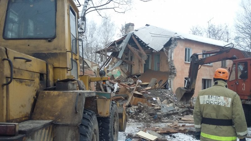 Озвучена причина взрыва вжилом доме вИваново
