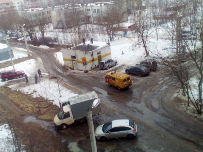 ВИванове произошел взрыв газораспределительного узла около жилого дома