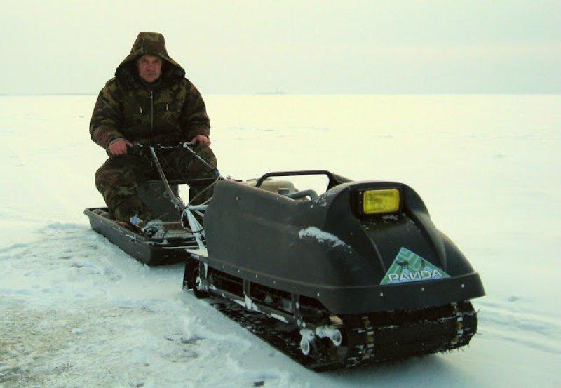 Старый рыбак провалился под лёд Горьковского водохранилища под Городцом