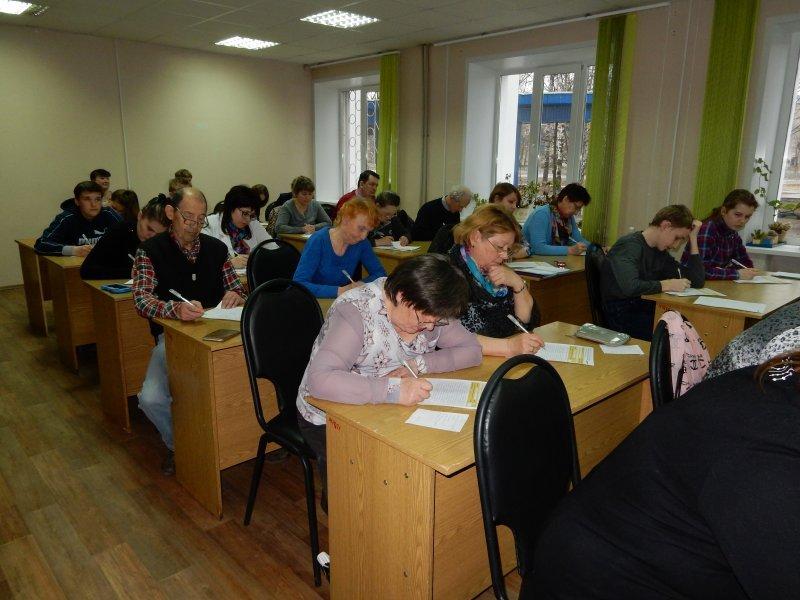 Около 30 кинешемцев участвовали вакции «Тотальный диктант»